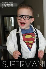 Clark Kent Halloween Costumes 21 Cute Clever Diy Halloween Costume Ideas Kids