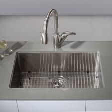 modern stainless steel kitchen sinks stainless steel kitchen sink gauge of modern khu100 30 view11 lg