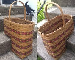 bent wood basket etsy