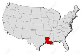 louisiana map in usa louisiana state maps usa maps of louisiana la map of louisiana in