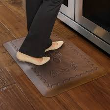 Anti Fatigue Kitchen Rugs Anti Fatigue Kitchen Mat Spaces Rustic With Alleviate Back And Leg