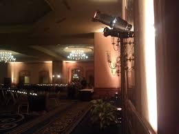 hilton minneapolis ballroom wedding with 24 par 64 up lights av