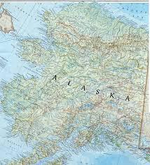 Alaska Map Outline by Alaska State Map My Blog
