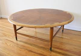 lane acclaim end table mid century modern round lane acclaim coffee table picked vintage