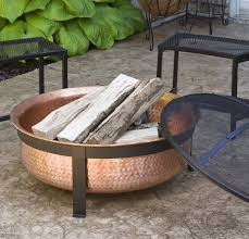 Patio Dining Set With Fire Pit - 35 metal fire pit designs and outdoor setting ideas