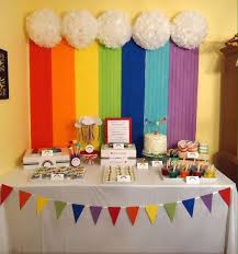 Rainbow Themed Birthday Favors by Best 25 Rainbow Birthday Ideas On Rainbow