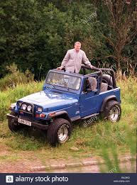 jeep open wrangler jeep graham dickson in his 4x4 29th july 1997 open top