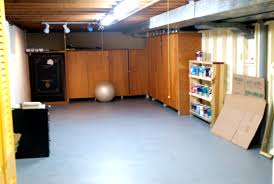 semi finished basement basements ideas