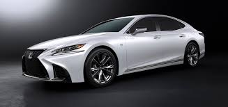 lexus affordable sports car lexus reveals new 2018 ls 500 f sport says it u0027s the most engaging yet