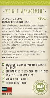 amazon com naturewise green coffee bean extract 100 pure with