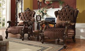 Brown Accent Chair Ac52082 Versailles Brown Accent Chair Pack Of 1 Inland Empire