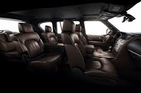 infiniti jeep interior new infiniti qx80 suv limited edition comes packed with extras