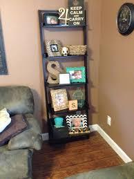 Display Living Room Decorating Ideas Best 25 Ladder Shelf Decor Ideas On Pinterest Ladder Bookcase