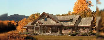 hidden creek craftsman log home floor plan