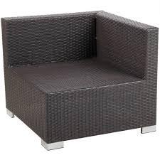 bfm seating ph5101jv l aruba java wicker outdoor indoor cushion