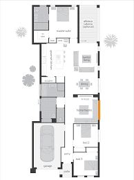 Narrow Home Plans Lakefront Home Plans One Story Narrow Lothomehome Plans Ideas 5