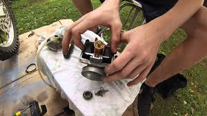 2 stroke carburetor rebuild rm 250 part 1 youtube