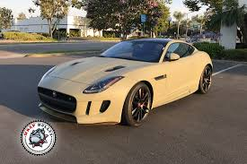 jaguar f type custom jaguar f type wrapped in matte khaki green wrap bullys