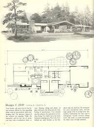 floor plan mid century ranch plans vintage house homes kevrandoz
