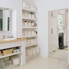 Organizing Ideas For Bathrooms by Bathroom Shelf Ideas With 22af38d229cf40fcc1b8523956934a94 Home