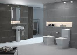 Grey Bathroom Fixtures Interesting Home Inerior Design Ideas For Modern Bathroom Fixture