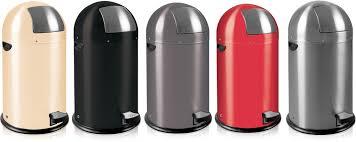 poubelles de cuisine corbeille poubelle de cuisine ronde à pédale 33 litres 3223