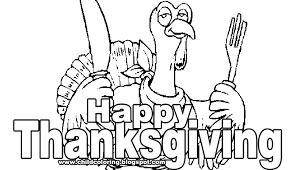 happy thanksgiving coloring page child coloring