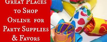 party supplies online behance