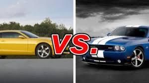 chevy camaro vs dodge charger chevrolet camaro vs dodge challenger carsdirect