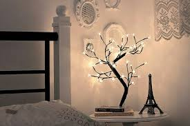 interesting tree shaped bedside l unique lighting ideas