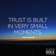 quote about personal knowledge brene brown quote about trust