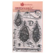 clear sts sparkly trees 10 set card paper crafting