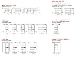 profondeur meuble haut cuisine profondeur standard meuble cuisine design d intérieur et