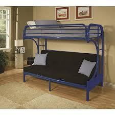 bedding mesmerizing bunk bed with futon cinnamon twin full kids