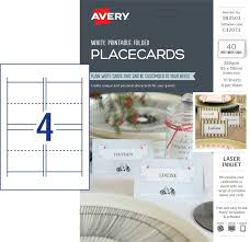 folded placecards 982503 avery australia