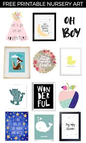 free printable nursery art project nursery