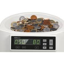 safescan 1250 gbp automatic coin counter and sorter new 1 coin