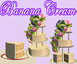 wedding cake in the sims 4 mod the sims it s your day set one of 6 delicious wedding cakes