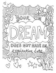 coloring pages for adults inspirational 12 inspiring quote coloring pages for adults free printables