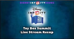 toy box summit day 2 live recap disney infinity codes cheats