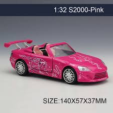 collectible model cars shop 1 32 diecast model car s2000 pink vehicle play