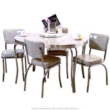 Kitchen Set Furniture Retro Diner Table And Chairs Retro Furniture Retroplanet Com