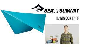 sea to summit hammock tarp youtube