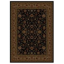 shaw accent rugs shop shaw living 46 x 64 onyx palace kashan accent rug at lowes com