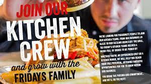 Kitchen Manager Re Tgi Fridays U0027 Careers