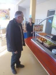 cuisine centrale elior visite de la cuisine centrale du prestataire elior en charge de