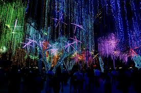 Light Show Lights Audio Visual Feast At The Ayala Triangle Garden U0027s Yearly Holiday