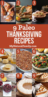 9 of the best paleo thanksgiving dinner recipes for your complete meal