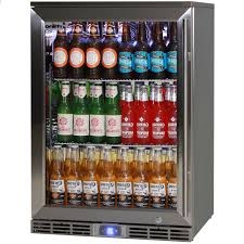 beer refrigerator glass door rhino alfresco kitchen outdoor glass door bar fridge energy