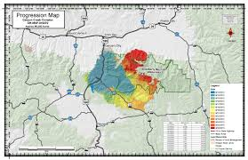 Oregon Forest Fires Map by Malheur National Forest Home